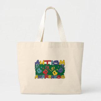 Autism Awareness Handprints Bag