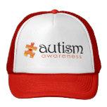 Autism Awareness Hat - Orange