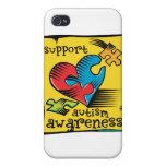 Autism Awareness Heart Puzzle Pieces