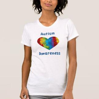 Autism Awareness Heart Tshirt