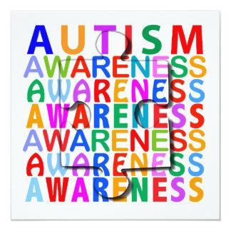 Autism Awareness Custom Invites