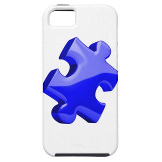 Autism Awareness iPhone 5 Case Blue Puzzle