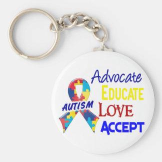 Autism Awareness Key Ring