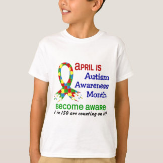 AUTISM AWARENESS MONTH APRIL T-Shirt