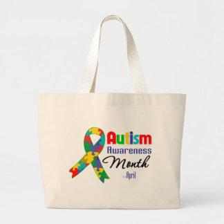 Autism Awareness Month Tote Bag