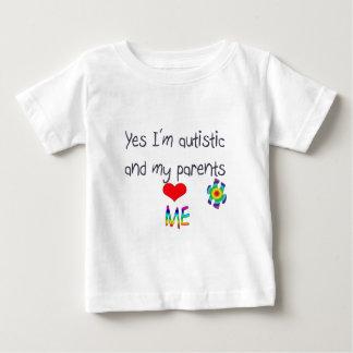 Autism awareness -My parents love me Baby T-Shirt