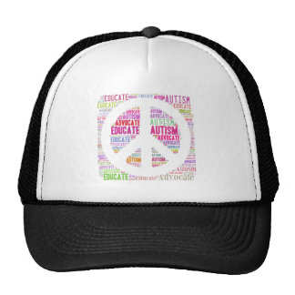 Autism Awareness Peach Products Cap