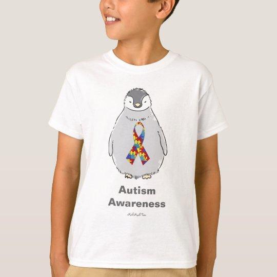 Autism Awareness Penguin T-Shirt