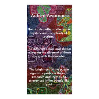 Autism Awareness Photo Greeting Card