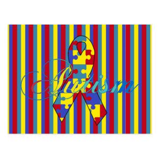 autism awareness post card