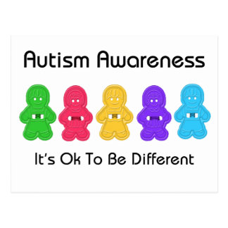 Autism Awareness Postcard