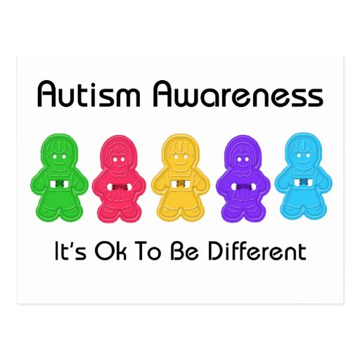 Autism Awareness Post Card