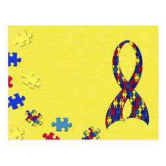 autism awareness postcards