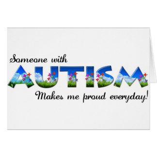 Autism Awareness pride Cards