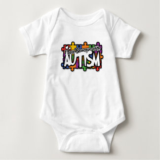Autism Awareness Puzzle Baby Bodysuit