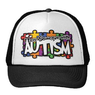 Autism Awareness Puzzle Cap