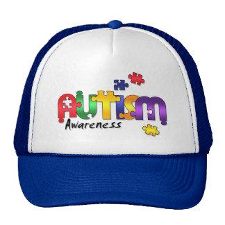 Autism Awareness Puzzle Hat