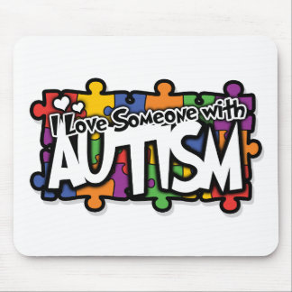 Autism Awareness Puzzle Mouse Mats