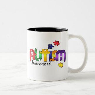 Autism Awareness Puzzle Mug