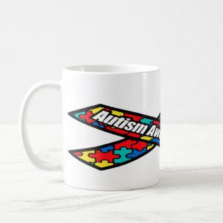 Autism Awareness Puzzle Piece Ribbon Mug