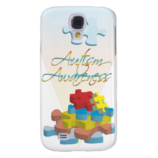 Autism Awareness Puzzle Pieces  Galaxy S4 Case