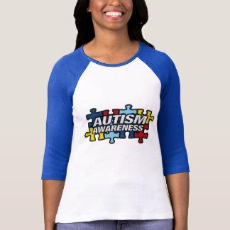 Autism Awareness Puzzle Pieces T-Shirt