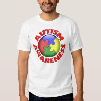 Autism Awareness Puzzle Pinwheel Tshirt