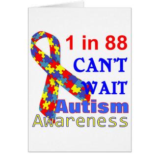 Autism Awareness Puzzle Ribbon Cards