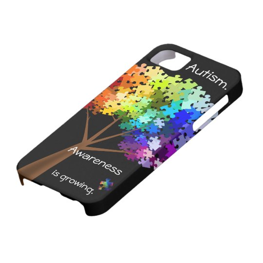 Autism Awareness Puzzle Tree Barely There iPhone 5 Case