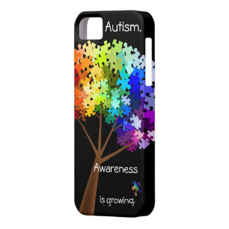 Autism Awareness Puzzle Tree iPhone 5 iPhone 5 Cover