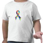 Autism Awareness Ribbon A4