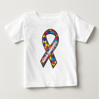 Autism Awareness Ribbon Baby T-Shirt
