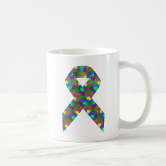 Autism Awareness Ribbon Coffee Mug
