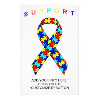 Autism Awareness Ribbon FLyer