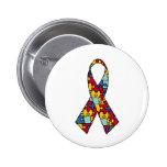 Autism Awareness Ribbon Merchandise Pin