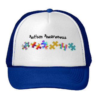 Autism Awareness (Royal Blue/White) Trucker Hat