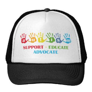Autism Awareness : Support Educate Advocate Cap