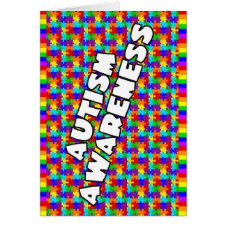 Autism Awareness Thank You Card