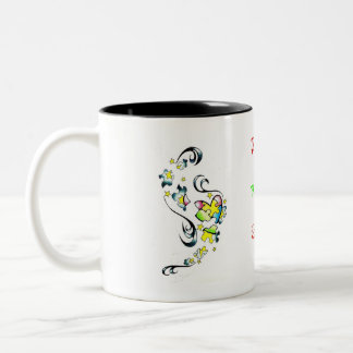Autism Awareness Two-Tone Coffee Mug