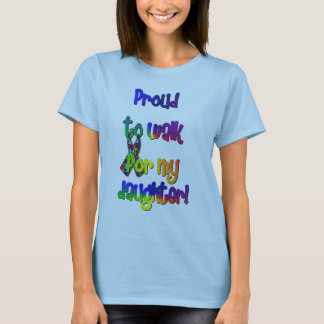 Autism Awareness Walker T-Shirt