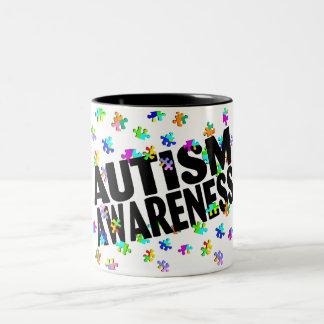Autism Awarness Two-Tone Mug