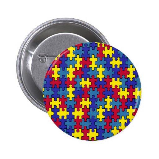 Autism Pinback Buttons
