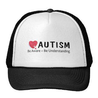 Autism Be Aware Be Understanding Mesh Hat