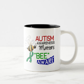 Autism BEE AWARE 1 Mugs