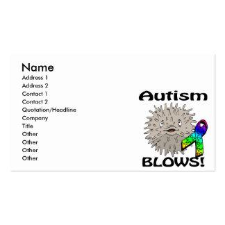 Autism Blows Awareness Design Business Card