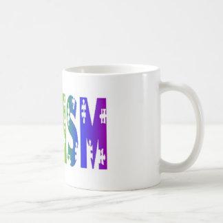 autism bright mug