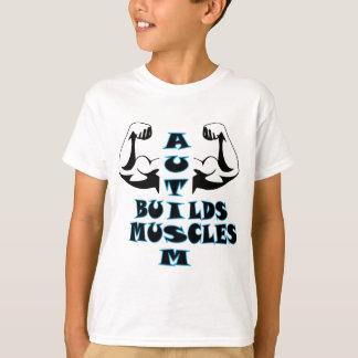 AUTISM BUILDS MUSCLES T-Shirt