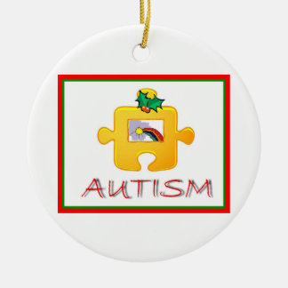 Autism Christmas Ornament