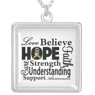 Autism Collage of Hope Jewelry