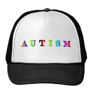 Autism Colorful Cap